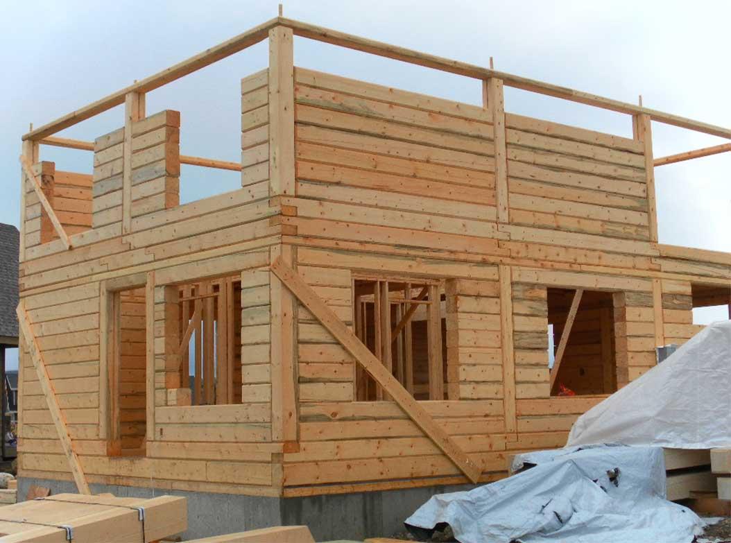 Chalets et maisons en bois massif la suite architecture bois magazine maisons bois - La maison bois massif ...