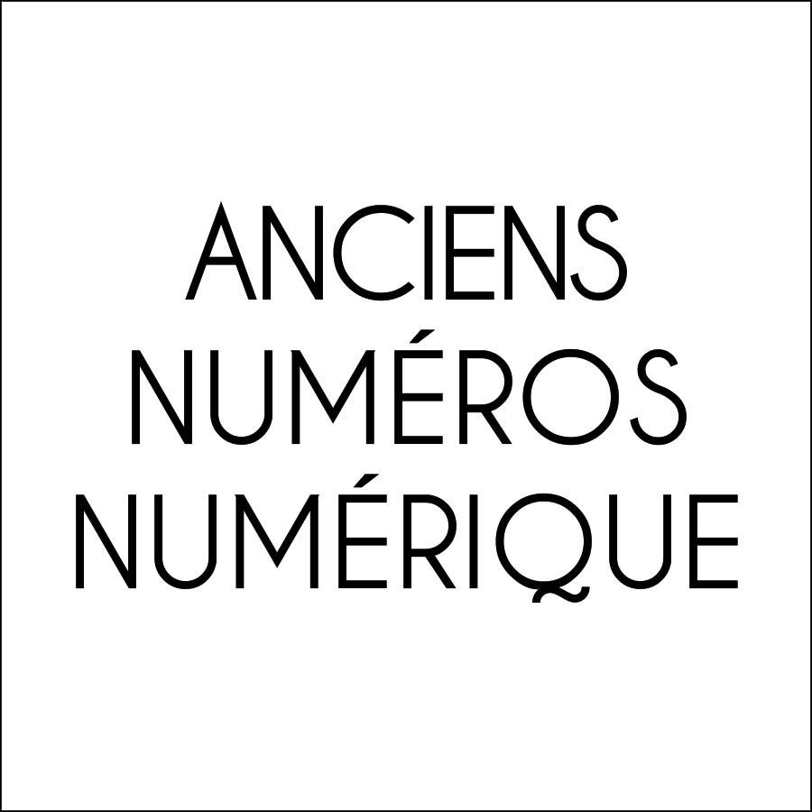 Anciens numéros numérique