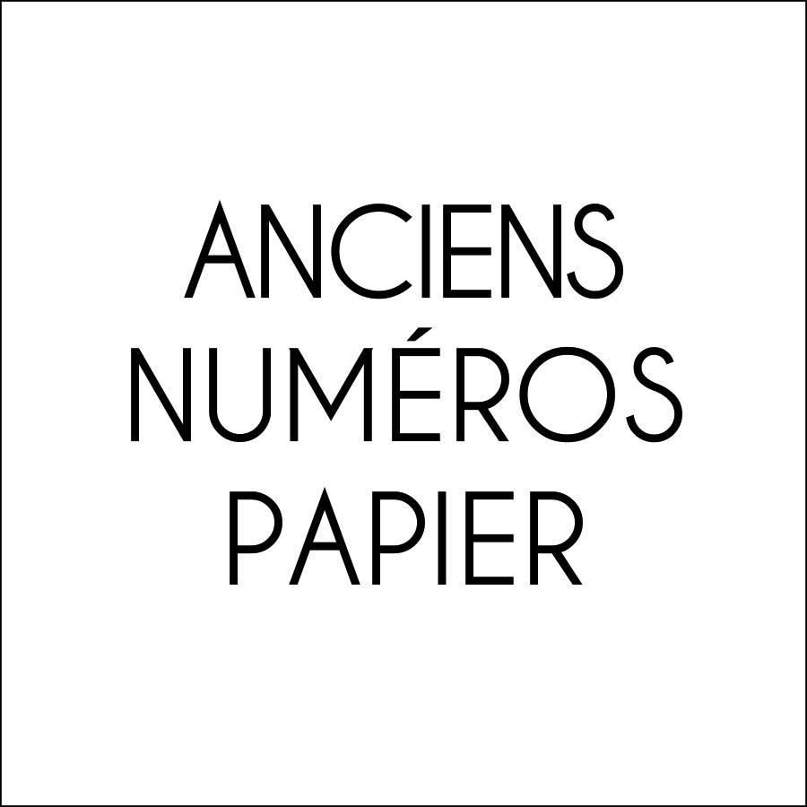 Anciens numéros papier