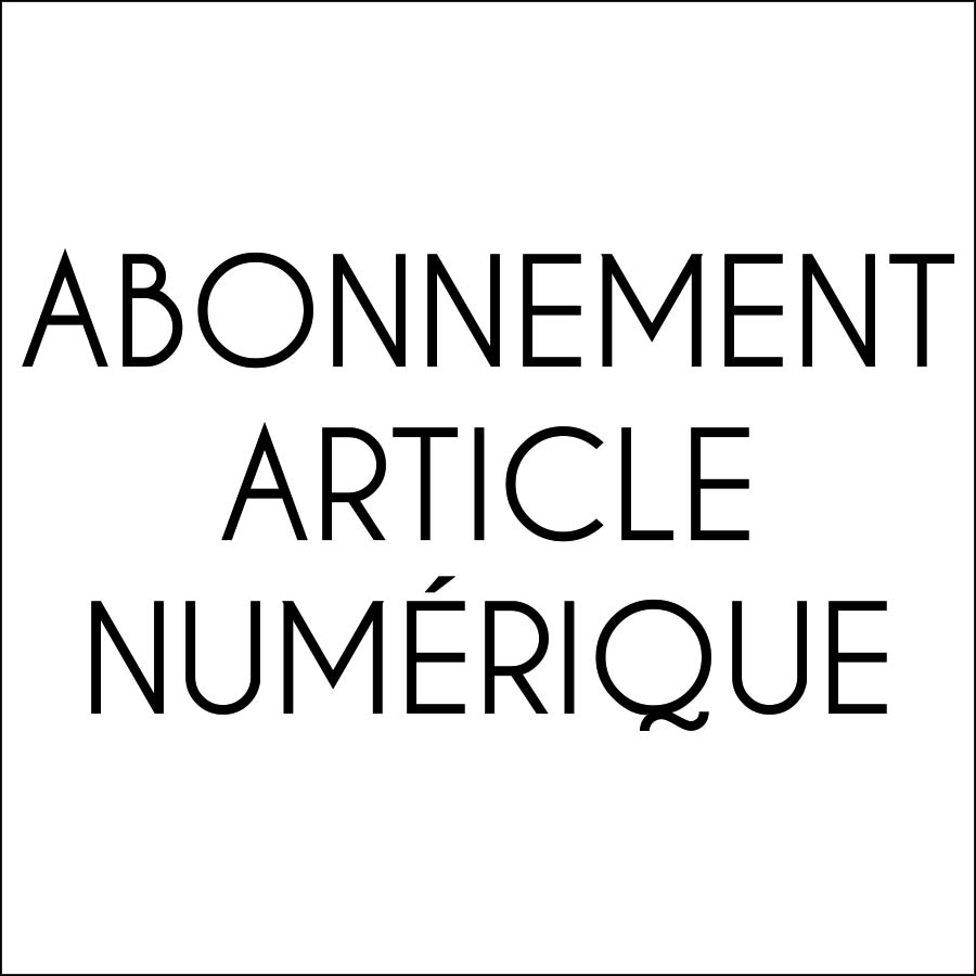 Abonnements Articles