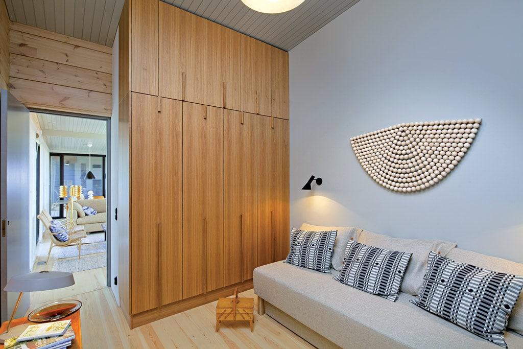 Maison scandinave design et écologique