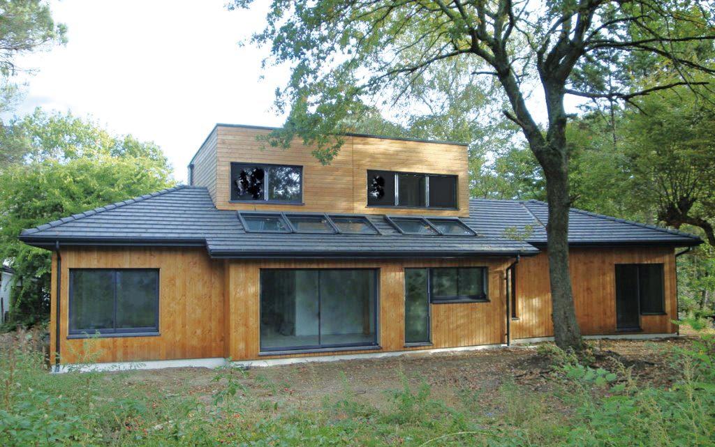 La discrète architecture bois magazine maisons bois