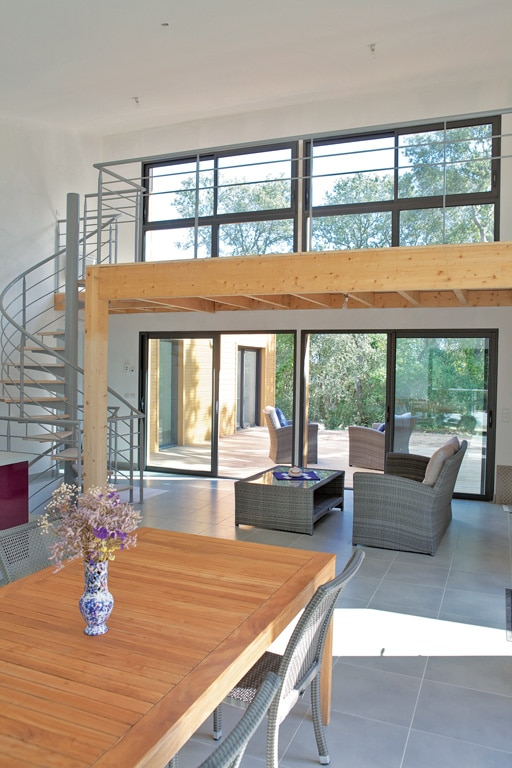 entre mar es et tradition architecture bois magazine. Black Bedroom Furniture Sets. Home Design Ideas