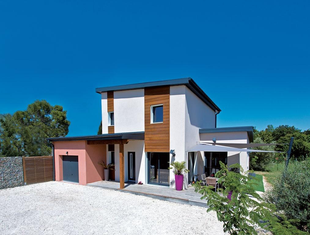 La voile grise architecture bois magazine maisons bois for Constructeur maison bois corse