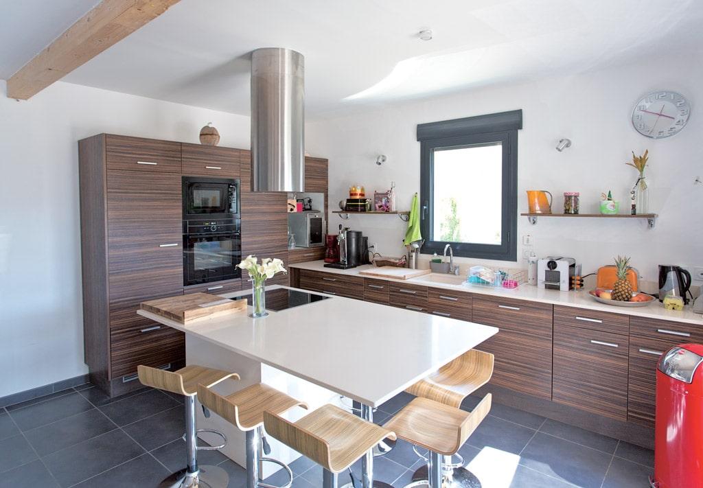 architecture bois magazine interieur cuisine amenagement decoration maison habitation