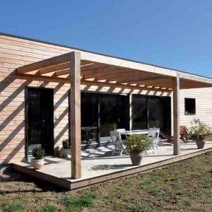 bardage maison bois
