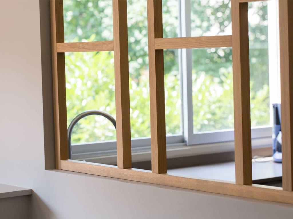 bois graphique en cuisine architecture bois magazine maisons bois construction. Black Bedroom Furniture Sets. Home Design Ideas