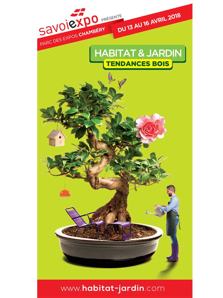 Le salon habitat jardin tendances bois d marre chamb ry for Salon habitat chambery