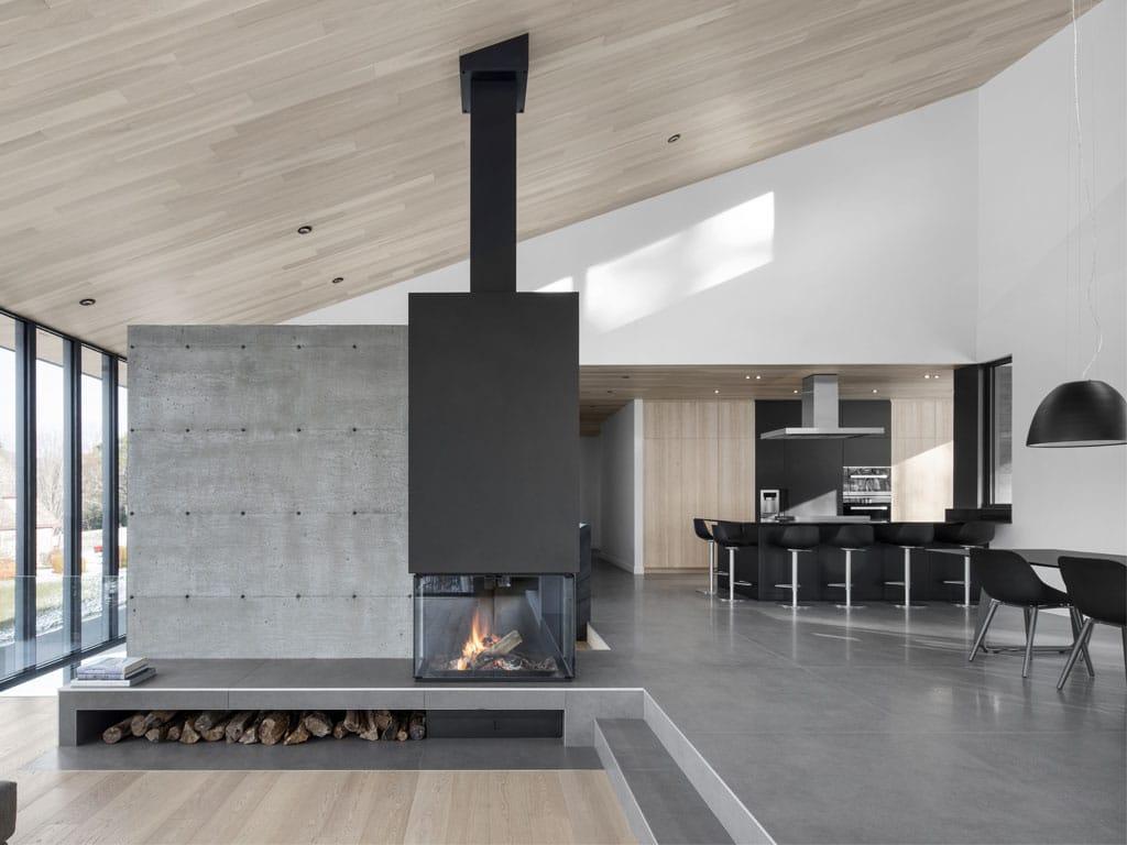Magazine architecture bois construction maison for Salon construction bois