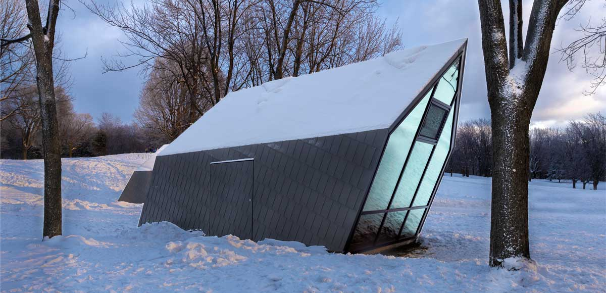 magazine-architecture-design-kiosque-zinc-acier-verre-canada-cabane ...