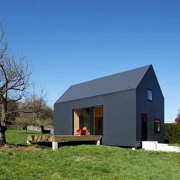 Maison en bois massif de vacances - Lode Architecture
