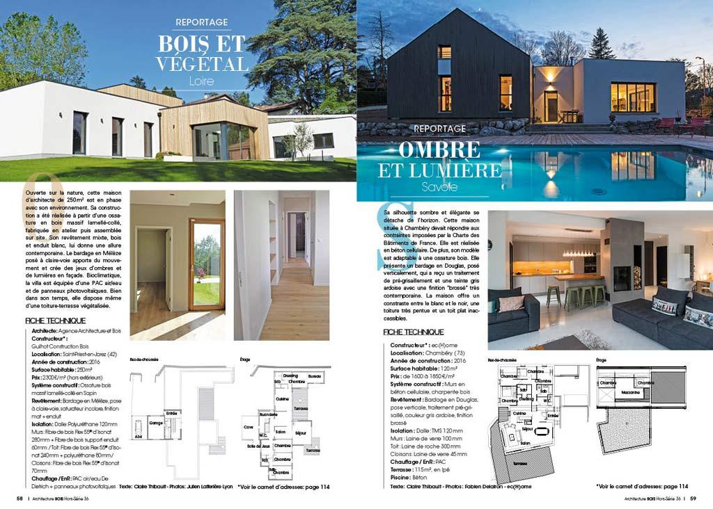maison bois 36