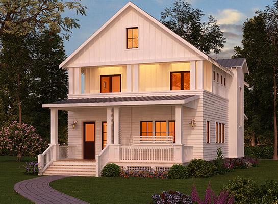 maison bois orleans