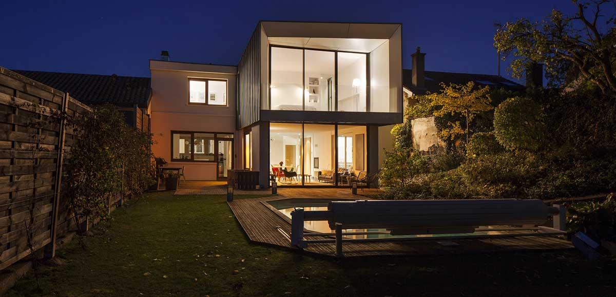 cout architecte maison finest la maison de fer cre en par
