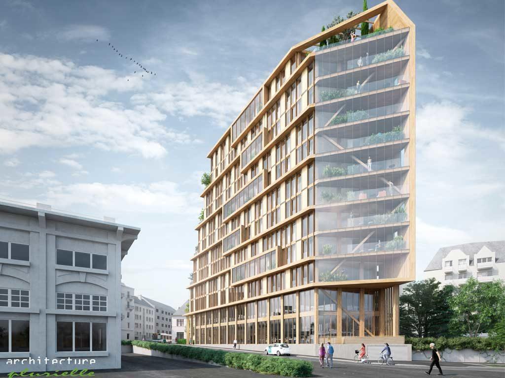 Immeubles en bois