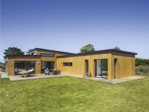 Nouvelle dimension - maison bois Trecobat