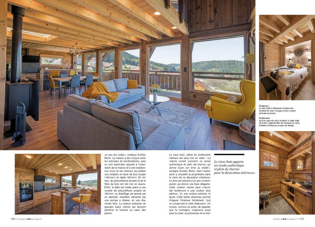 hors s rie 37 la maison bois sous toutes ses formes architecture bois magazine maisons. Black Bedroom Furniture Sets. Home Design Ideas