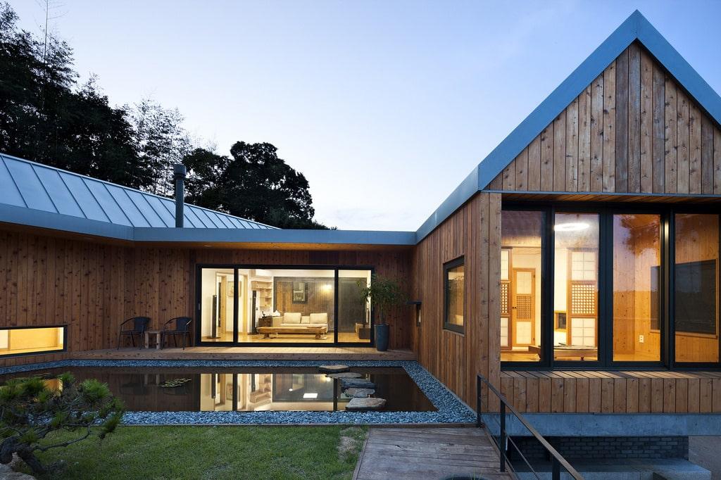 Les avantages de la construction bois - Plan maison bois contemporaine ...