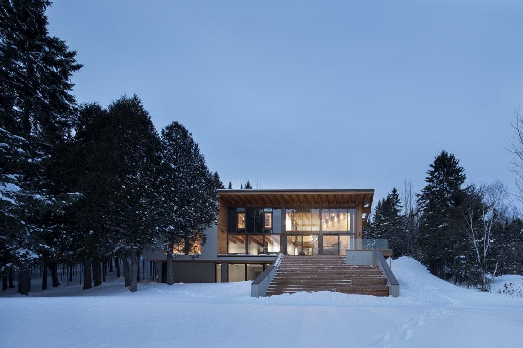 Une maison de bois