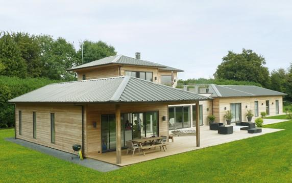 Pourquoi optez pour une construire une maison ossature bois - Fabrication maison ossature bois ...