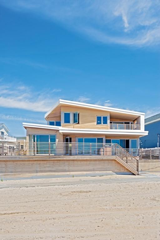 Maison bois bord de mer Breezy Point