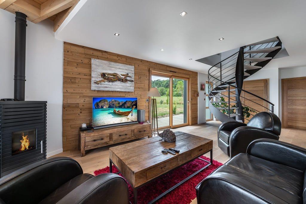 Maison en bois demi-ronde - La Maison de Cèdre