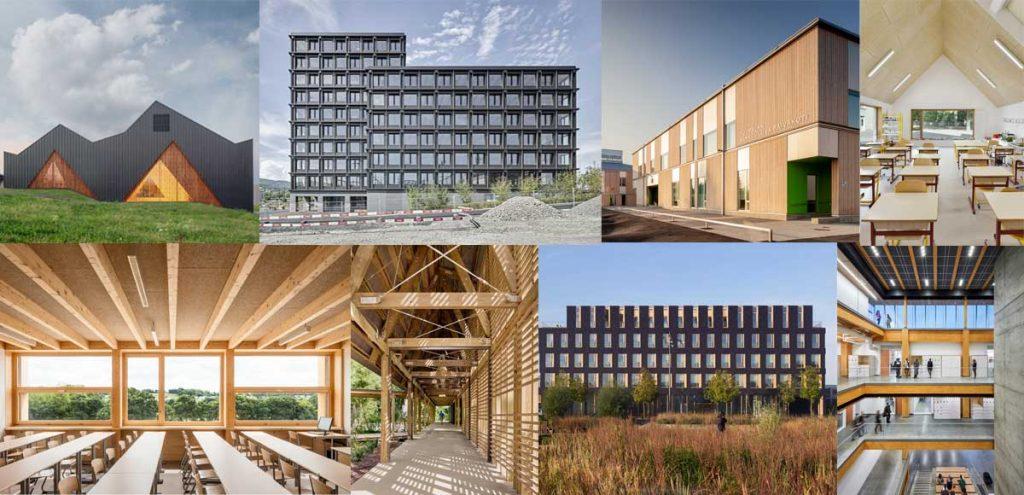 Prix internationale Architecture Bois projets nominés