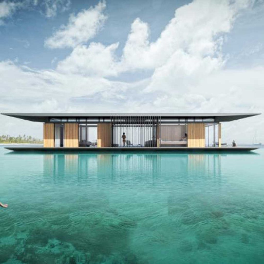 Concours Jacques Rougerie - Floating Mobile House