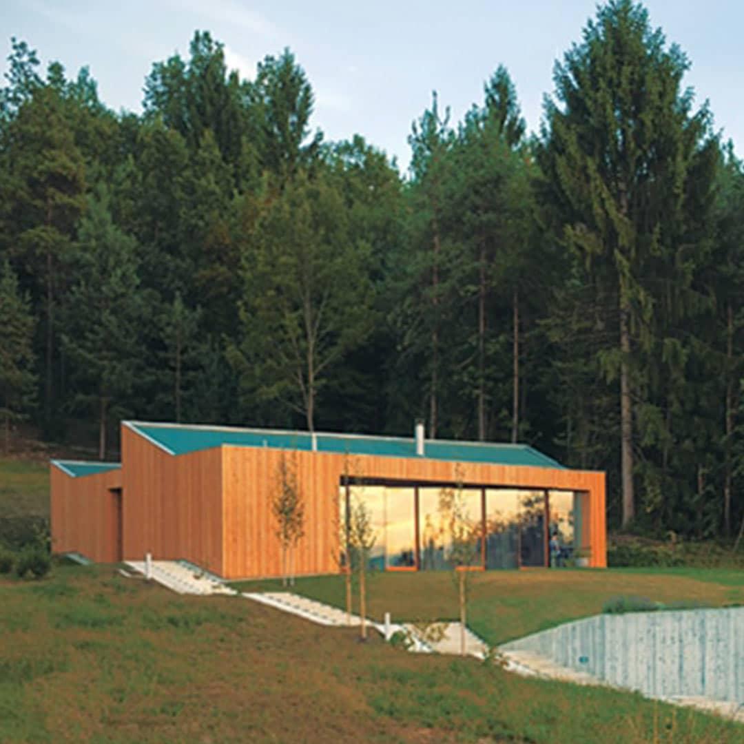 Maison bois contemporaine Kombinat