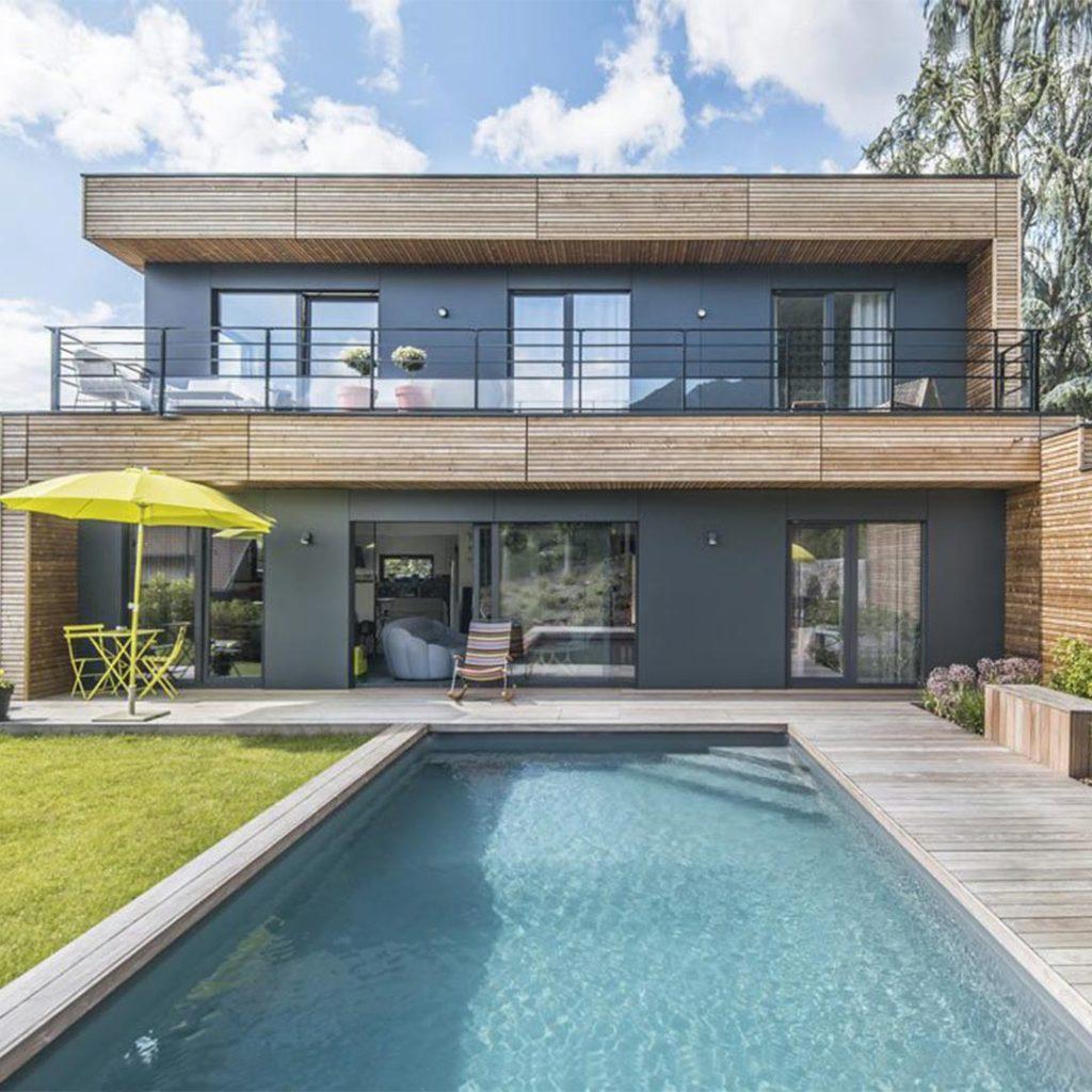 Certitude familiale : une maison à ossature bois booa en ...