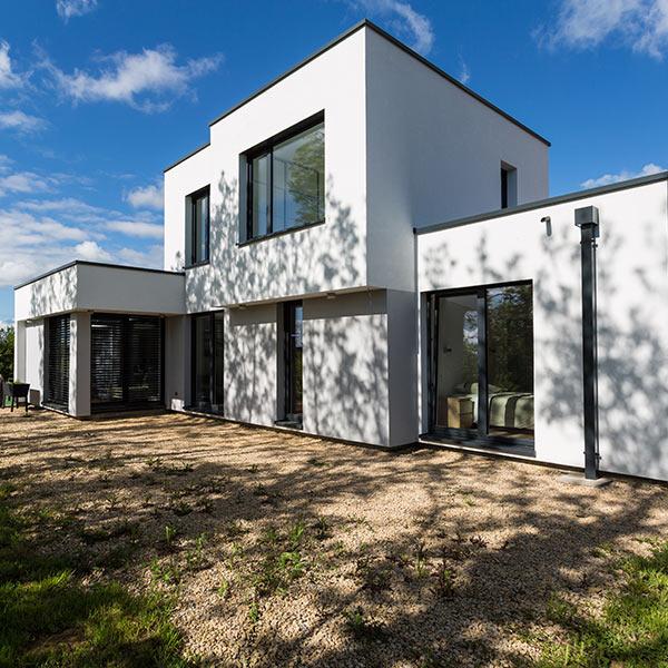 Maison bois d'architecte en Moselle