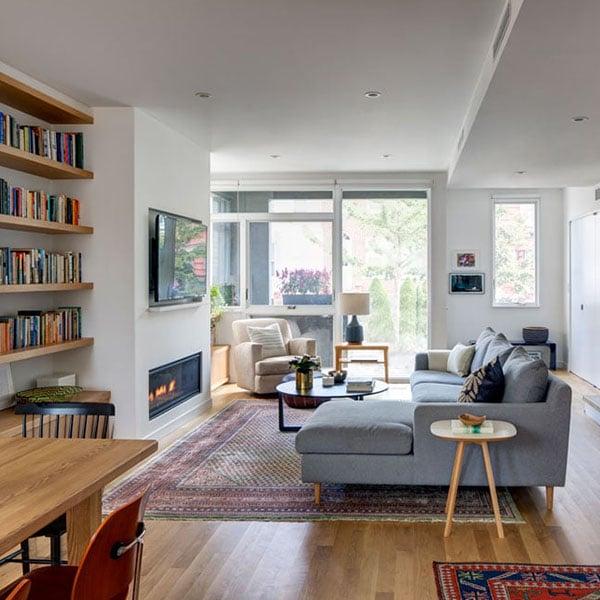 maison-ossature-bois-contemporaine-salon-1 - Architecture ...