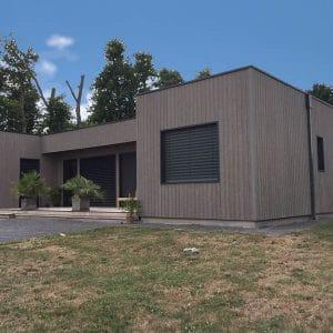 """Maison bois en forme de """"U"""" - Denis Legal"""