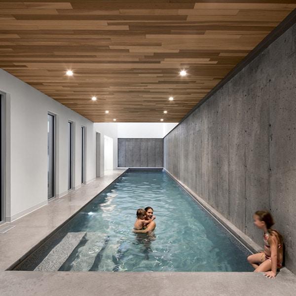 Maison bois l'Accostée Adstock - Bourgeois/Lechasseur Architectes
