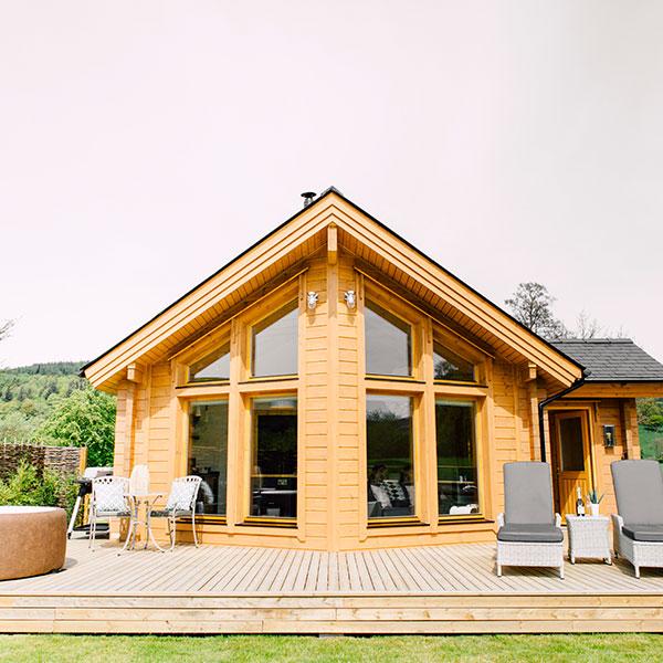 Cabane en madriers - ArticHouse