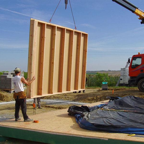 Coronavirus chantier maison bois