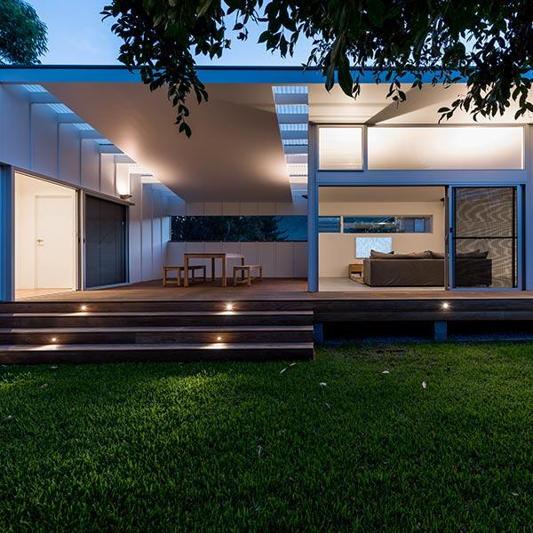 Maison bois originelle en bois - Bourne Blue Architecture