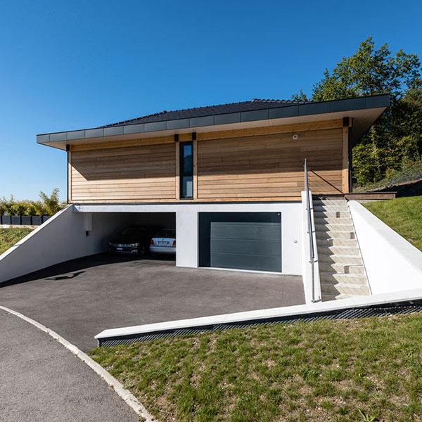 Architecture Bois Maison Style Californien Haute Savoie Vision Garage Architecture Bois Magazine Infos Sur La Construction Et Maisons En Bois