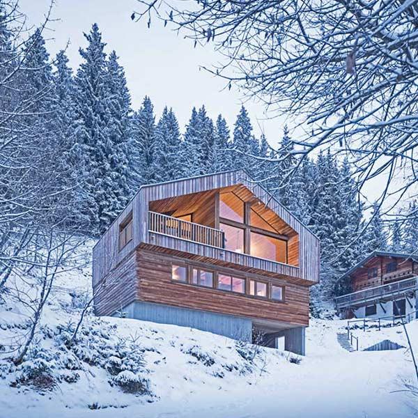 Chalet en bois design - Studio Razavi