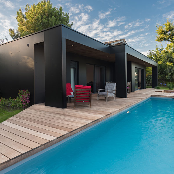 Maison bois ultra design - Cube in Life