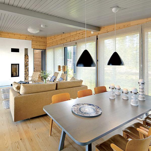 Maison bois au design scandinave - Honka