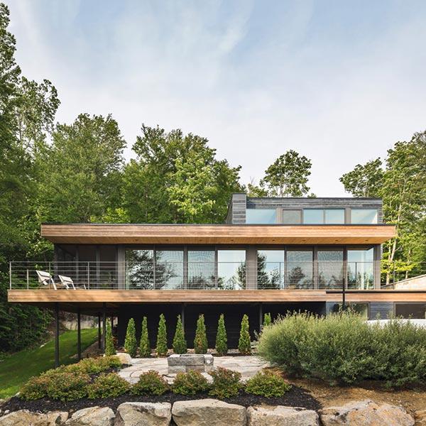 Maison bois l'Estrade - MU Architecture Bois