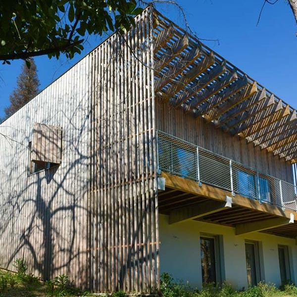 Maison individuelle en bois - Emmanuelle Lesgourgues