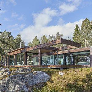 Maison bois Naakka Finlande - Polar Life Haus