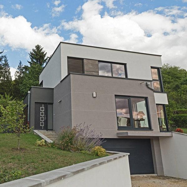 Maison moderne à ossature bois - Innov Habitat