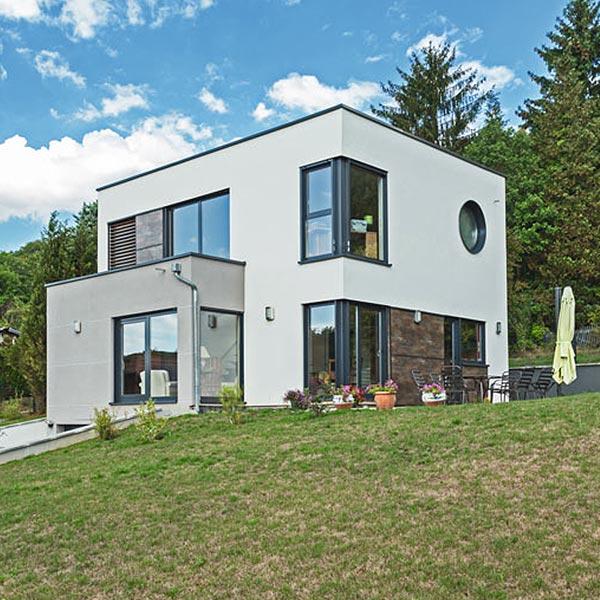 Maison moderne à ossature bois - Innov'Habitat