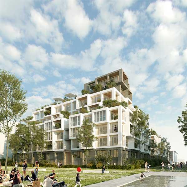 170 logements bois à Rueil Malmaison © Woodeum/Wilmotte