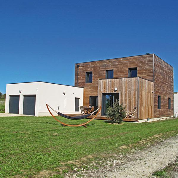 Auto-construction d'une maison bois - Cogébois