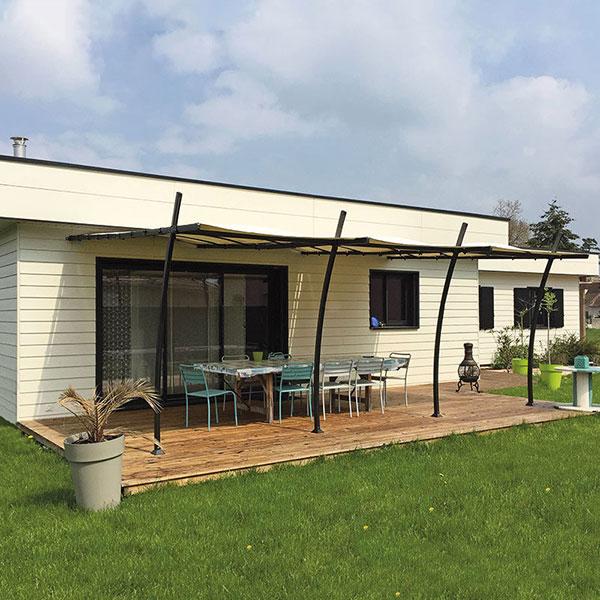 Maison en ossature bois cubique - Nordi Bois