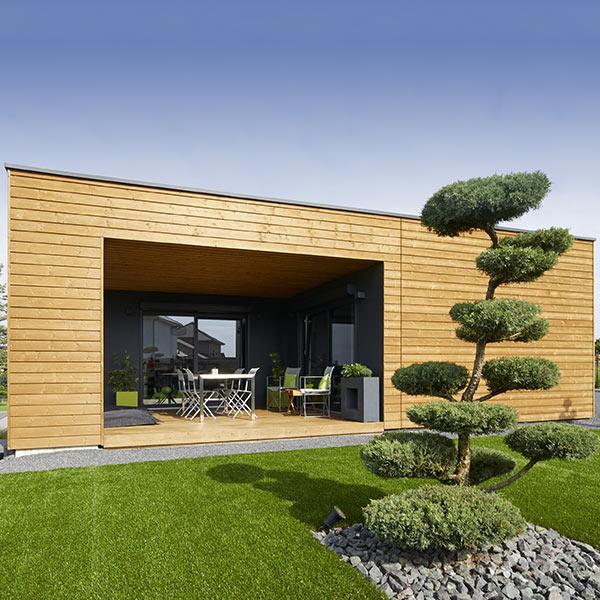 Maison bois zen - booa